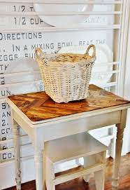 how to make a diy paint stick table top