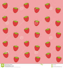 cute strawberry wallpaper. Perfect Cute Download Cute Pink Strawberry Wallpaper Stock Illustration   Of Fresh Doodle 87564264 And T