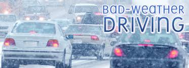bad weather driving