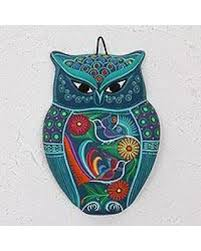 >here s a great deal on ceramic wall art garden owl mexico  ceramic wall art garden owl mexico