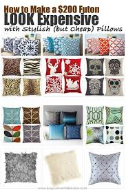 Futon Pillow Covers