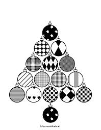 Kerstballen Kerstboom Kleuren Is Leuk