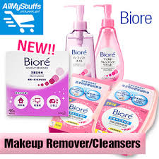 biore makeup remover cleansing cotton 44 sheets 46 sheets refill cleansing