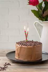 One Bowl Mini Chocolate Cake With Mocha Buttercream Nourish Fete