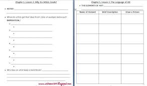 Worksheets. High School Art Worksheets. Opossumsoft Worksheets and ...
