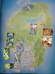 here's the map of 'gta 5's' los santos Map Gta 5 Map Gta 5 #22 mapgta5hiddengems