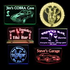 Personalized Light Up Bar Signs Led Sign Categories