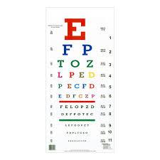 Standard Vision Chart Snellen Chart 6 Meters Snellen Chart