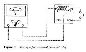capacitors refrigerator troubleshooting diagram refrigerator potential relay testing