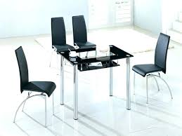small glass kitchen table glass small round glass kitchen table and chairs