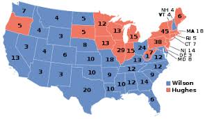 1916 United States Presidential Election Wikipedia