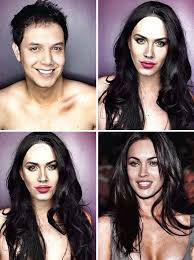 this guy uses makeup to transform himself into female hollywood celebrities photos filipino tv host and actor paolo ballesteros embraces one new ideny
