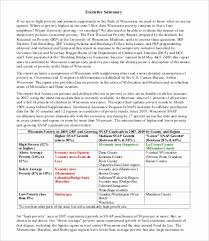 Work Sampling Summary Report Template Best Of Sample Executive ...