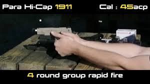 Pistol Recoil Comparison Part 1