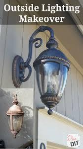 diy lighting fixtures. Interesting Lighting Donu0027t Throw Away Those Faded Outdoor Lighting Fixtures Add Instant Curb  Appeal With On Diy Lighting Fixtures