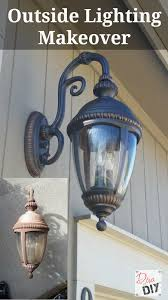 don t throw away those faded outdoor lighting fixtures add instant curb appeal with