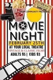 Free Movie Night Flyer Templates Flyer Psd Vorlagen Mytv Pw