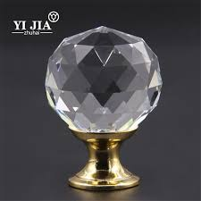 Round glass cabinet knobs Crystal Cabinet Knobs And Handles Crystal Knob Glass Knobs Cabinet Knobs Factory Clear Round Glass Cabinet Knobs And Handles Yijia Crystal