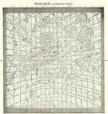 Astrology Map Chart 1901 Antique Astronomy Print Star Constellation Map Chart Astrology Map 7102 Ebay