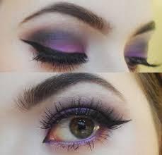 how to do purple smokey eye makeup