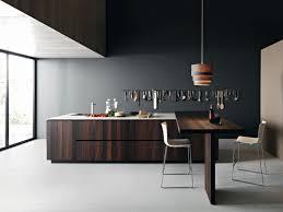 Cuisine Noire Et Bois Un Espace Moderne Et Intrigant