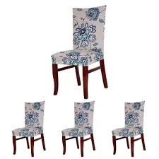 colorbird spandex fabric chair slipcovers removable universal stretch elastic chair protector covers for dining room
