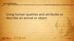 the poetry of shakespeare s language important terms to know 13 personification using human qualities and attributes to describe an animal or object