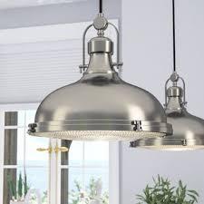 Large light fixtures Hallway Quickview Panasonic Global Large Dome Pendant Light Wayfair