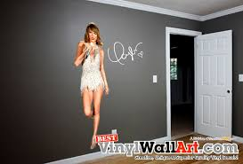 taylor swift life size wall decal sticker