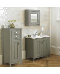 more views braxton stone grey 800mm traditional freestanding vanity unit furniture suite