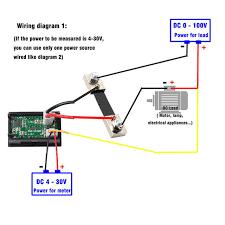 voltmeter shunt wiring diagram wiring schematics diagram online shop dc100v 100a digital voltmeter ammeter blue red led amp voltmeter meter movement diagram voltmeter shunt wiring diagram