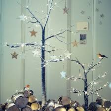 Christmas Decoration U2013 Unconventional Twig Tree  Colourful Twig Tree Christmas
