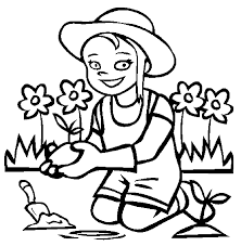 Flower Garden Coloring Pages To Download And Print For Free ...