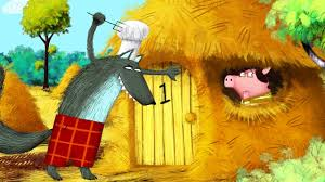 fairy tales for children three little pigs and the big bad wolf you