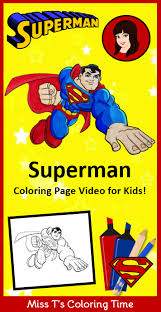 Coloring pages for kids ► please like comment subscribe to my channel to see more interesting videos ! Superman Coloring Page Video For Kids If You Re A Superman Fan Check Out This Kid Friendly Superman Coloring Pages Superhero Coloring Pages Superhero Coloring