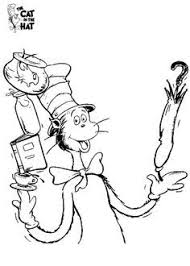 Small Picture Cat In The Hat Coloring Page Great Beautiful The Cat In The Hat