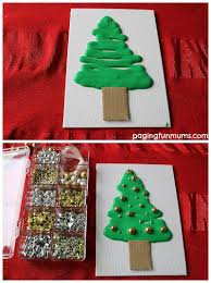 Christmas Crafts For Kids  Quilled Paper  Styrofoam Tree DecorationFoam Christmas Tree Crafts