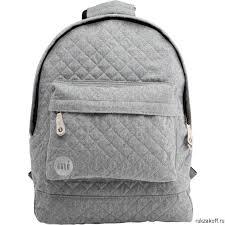 <b>Рюкзак</b> Mi-Pac Premium <b>Quilted</b> Grey купить по цене 3 190 руб. в ...