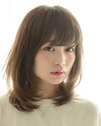 40代の髪型7選ミディアム丸顔や面長に似合う髪型はパーマ In