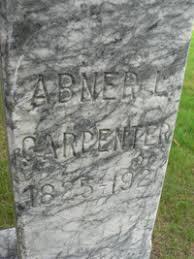 Abner Lewis Carpenter (1823 - 1921) - Genealogy