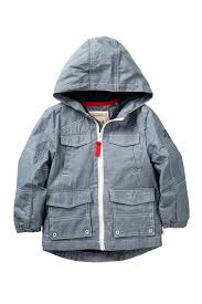Kanz Hooded Rain Jacket Toddler Little Boys Big Boys Nordstrom Rack