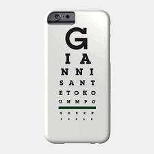 Eye Chart Letters Giannis Eye Chart