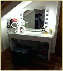 desk mirror with lights pretty makeup table and mirror modern vanity dressing with throughout lights decor desk mirror with lights