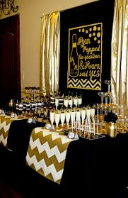 party city bridal shower balloons pictures design likable gold and black champagne lillian hope serving table decorations melbourne nz graduation ideas for