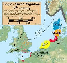 Angl Es The Angles Ingles English Danish Expansion And Anglish Migration