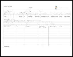 Free Employee Training Record Template Excel In Staff
