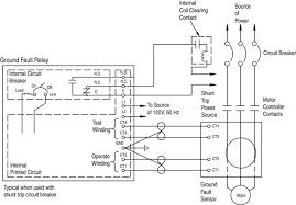 circuit breaker wiring diagram & elementary wiring diagram of Square D Shunt Trip Breaker 1321388 to shunt trip breaker wiring diagram