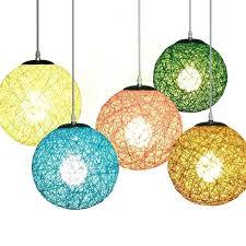 diy string pendant lamp shade lights mason jar light globe