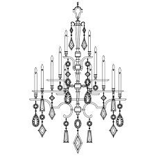 fine art lamps 709440 1 encased gems bronze 24 lamp extra large chandelier lighting loading zoom