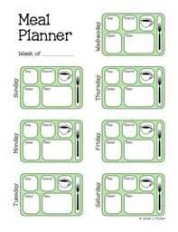 Weight Loss Menu Planner Template Meal Plan Your Way To Weight Loss Rural Mom